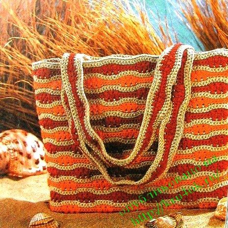 Схемы вязания сумок крючком
