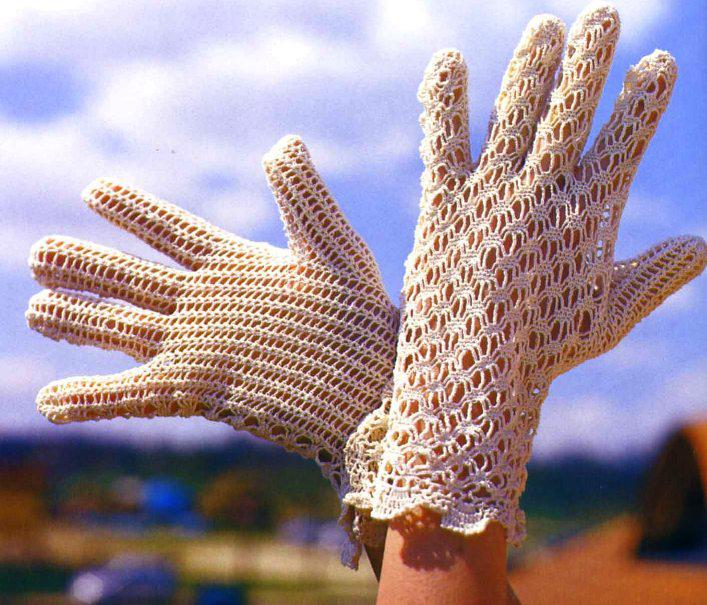 Эти классные ажурные перчатки