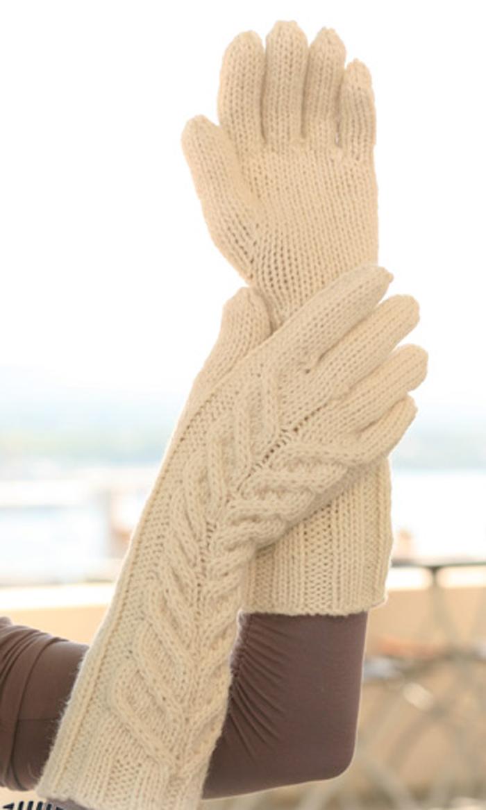 Схемы вязания шарфов 18