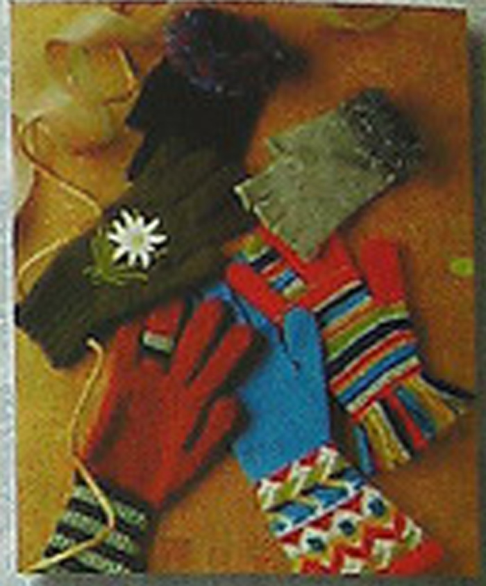 Вязание на спицах перчаток без пальцев