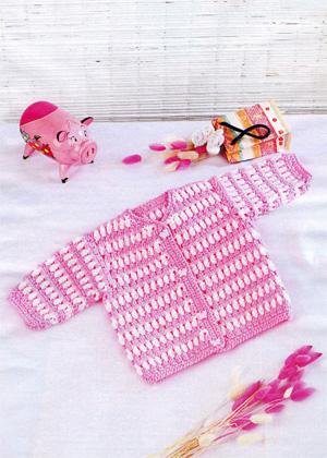 вязание спицами детской одежды для самых маленьких жакеты крючок