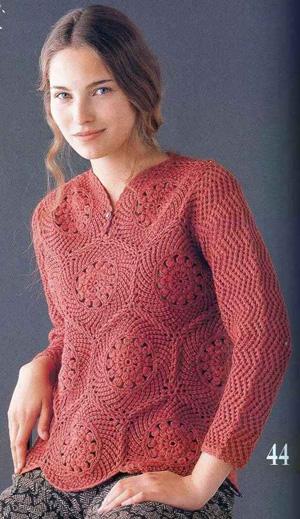 Схемы вязания. Вязание женских