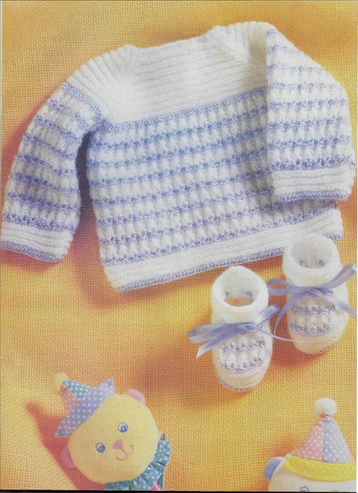 Вязание комплектов для новорожденных