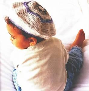 Схема вязания шапки спицами. Нажмите
