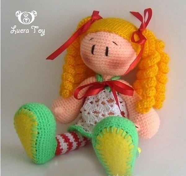 очаровательной куклы.