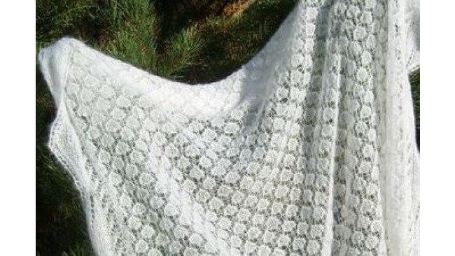 Старая схема оренбургской шали