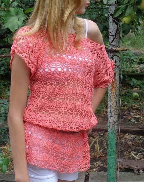 туники схемы вязания скачать бесплатно вязание крючком и спицами