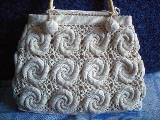 Схемы вязания. Вязание сумки