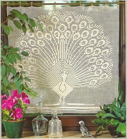 занавески и шторы со схемами вязания схемы вязания скачать