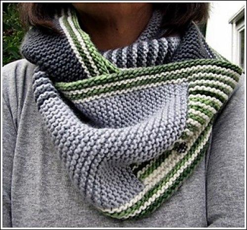 вязание мужского шарфа снуда шарфы аксессуары схемы вязания