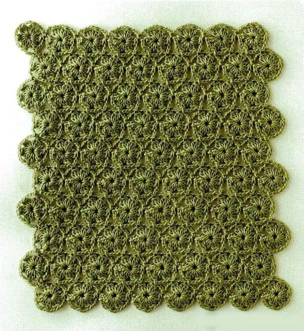 Вязание крючком схемы для безотрывного вязания