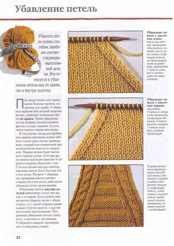 Вязание спицами с 1 петли