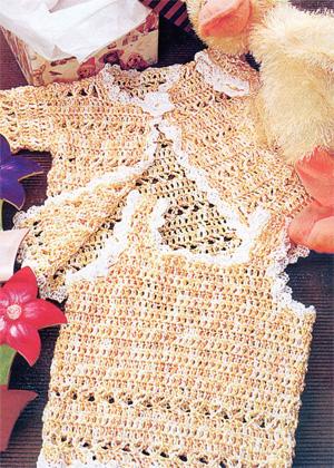 Схемы вязания детской одежды