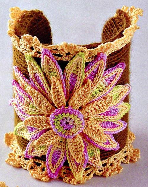Схема вязания красивого