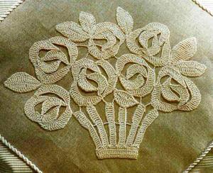 Схемы вязания спицами цветов