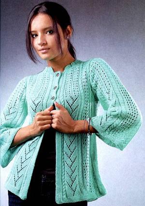 Вязание красивой женской