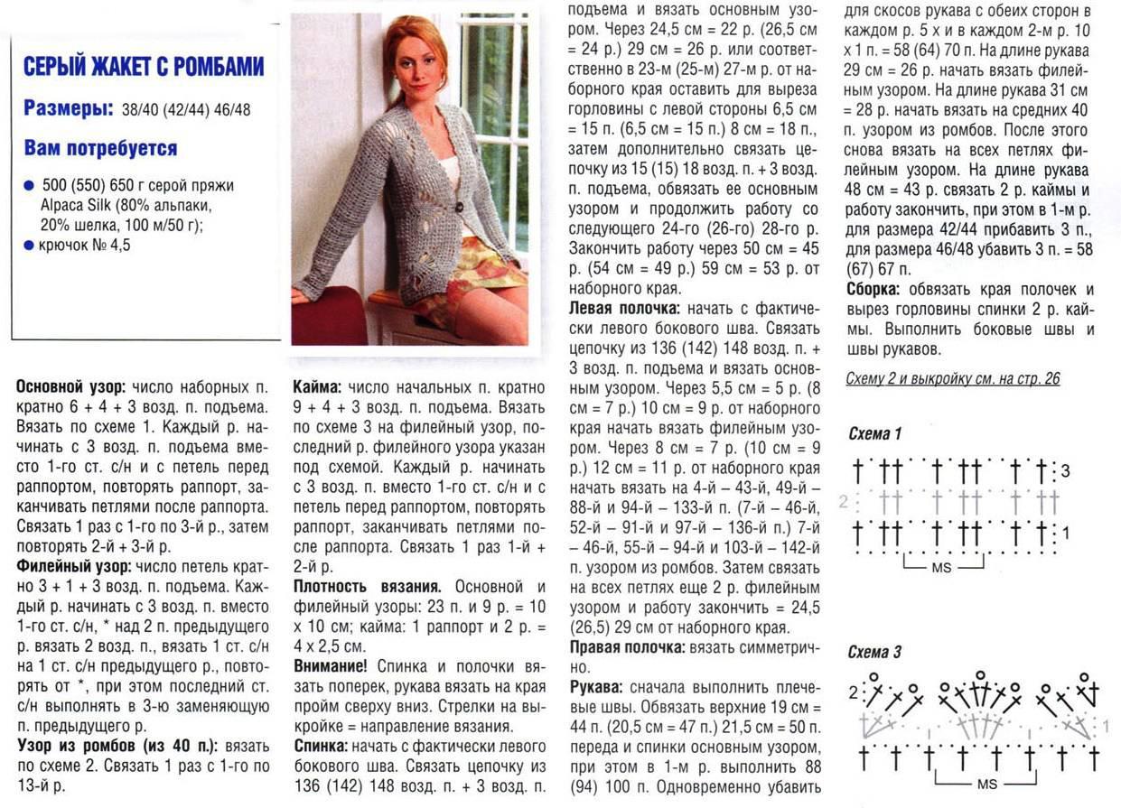 Вязаные женские кофты спицами со схемами описанием фото 86