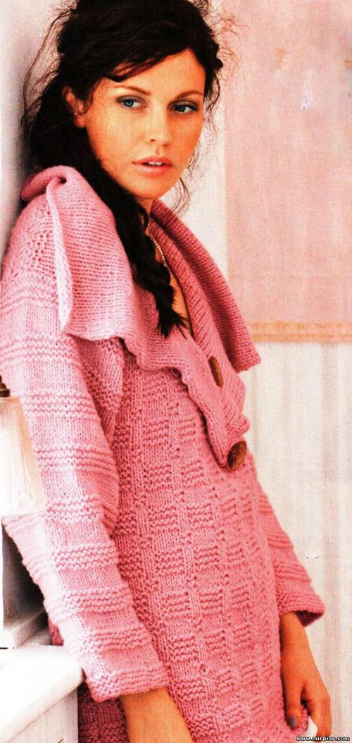 Схемы вязания. Вязание туники