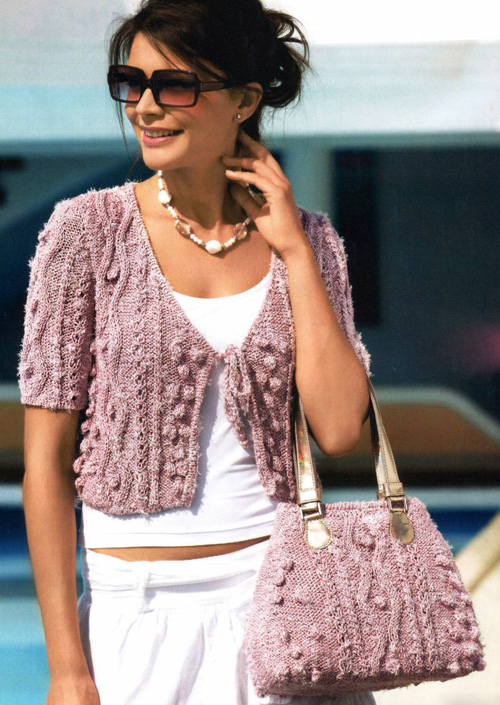 Схемы вязания. Вязание модной
