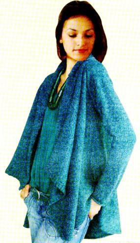 Вязание стильной женской