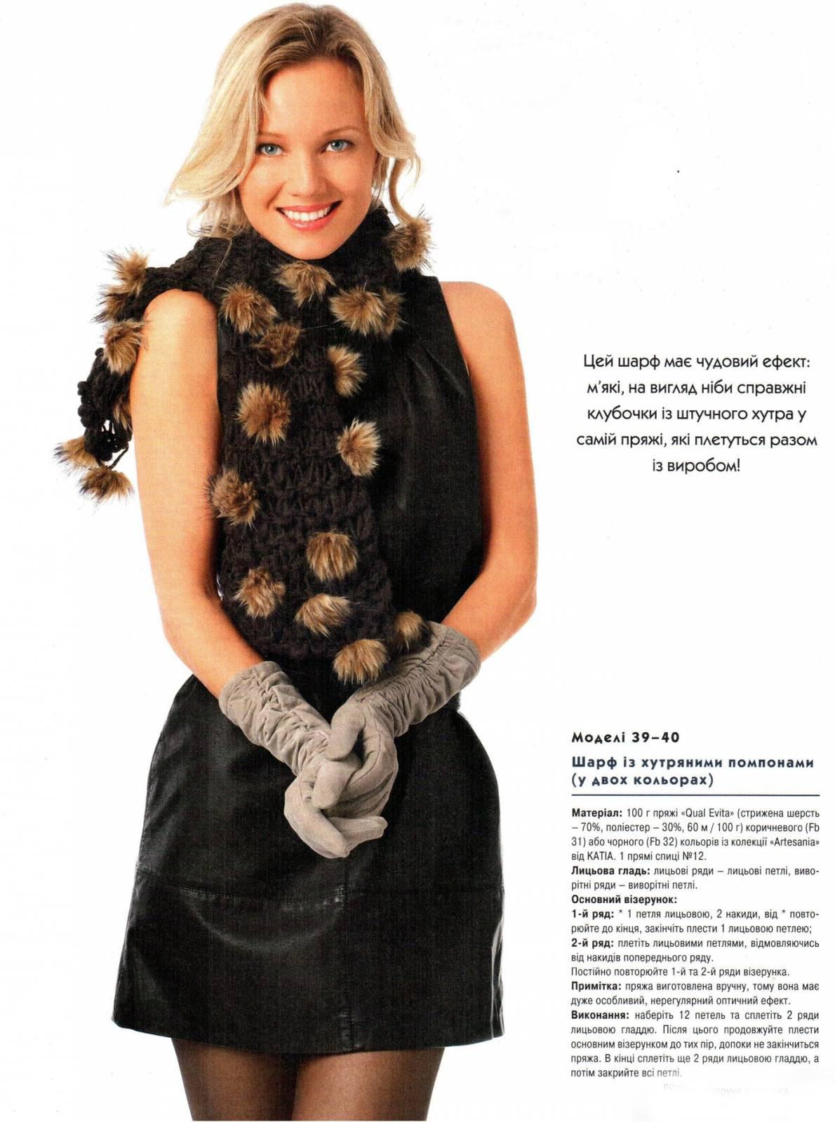 Модный свитер с описанием