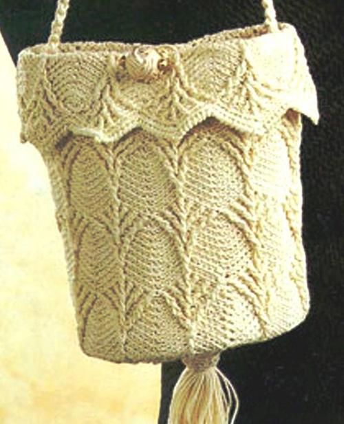 Схемы вязания сумок крючком и