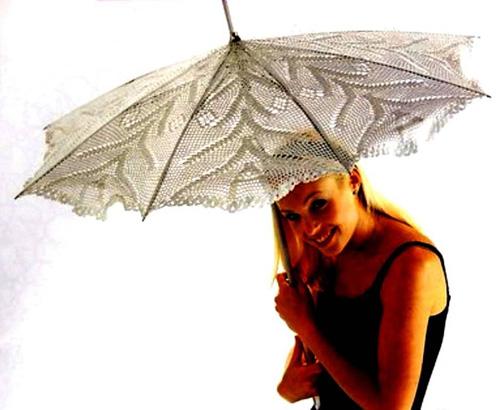 Еще одна схема вязания зонта