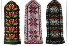 вязание варежек схемы вязания вязание крючком и спицами